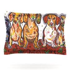 Maksim Murray Enzo Ruby & Willy by Rebecca Fischer Cotton Pillow Sham