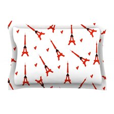 Paris by Louise Cotton Pillow Sham