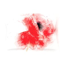 Poppy by Louise Cotton Pillow Sham