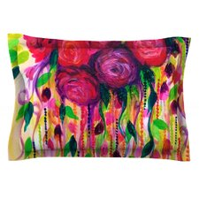 Roses are Red by Ebi Emporium Woven Pillow Sham