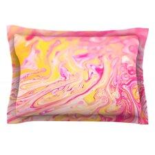 Bubble Gum Pink by Ingrid Beddoes Cotton Pillow Sham