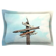 Love Shack by Sylvia Cook Cotton Pillow Sham
