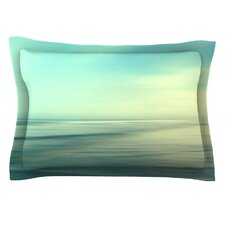 Beach by Sylvia Cook Cotton Pillow Sham