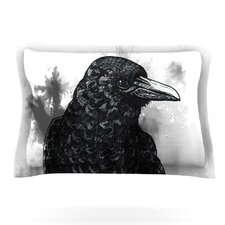 Crow by Sophy Tuttle Cotton Pillow Sham