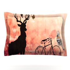 Vintage Forest by Suzanne Carter Cotton Pillow Sham