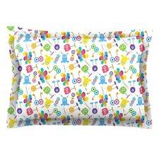 Fun Creatures by Laura Escalante Cotton Pillow Sham