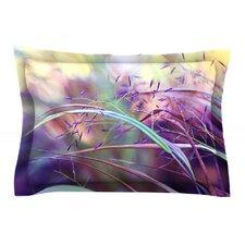 Pretty Grasses by Sylvia Cook Cotton Pillow Sham