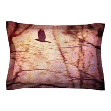 Midnight Dreary by Robin Dickinson Cotton Pillow Sham