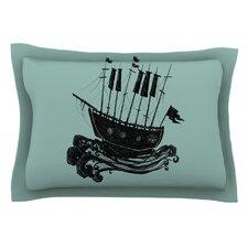 Ship by Jaidyn Erickson Cotton Pillow Sham