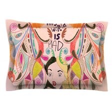 Alice in Wonderland by Vasare Nar Cotton Pillow Sham
