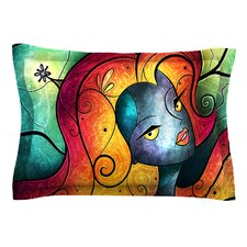 Andromeda by Mandie Manzano Cotton Pillow Sham