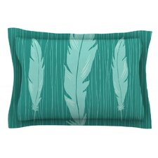 Feathers by Jaidyn Erickson Cotton Pillow Sham