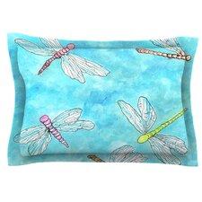 Dragonfly by Rosie Brown Cotton Pillow Sham