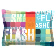 FLASH Cotton Pillow Sham