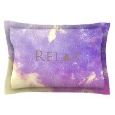 Relax by Rachel Burbee Woven Pillow Sham