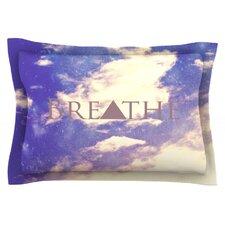 Breathe by Rachel Burbee Cotton Pillow Sham