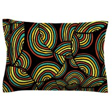Infinite Depth by Pom Graphic Design Cotton Pillow Sham