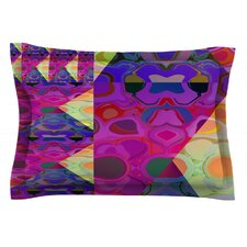 Alligator Patch by Nina May Cotton Pillow Sham