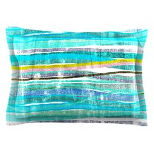 Fancy Stripes by Frederic Levy-Hadida Cotton Pillow Sham