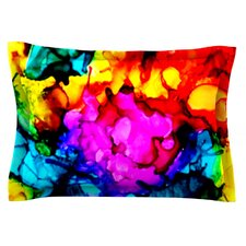 Sweet Sour by Claire Day Woven Pillow Sham