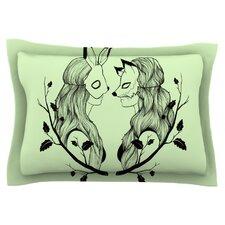 Foxybuns by Jaidyn Erickson Cotton Pillow Sham