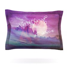 Everything at Once by Monika Strigel Cotton Pillow Sham