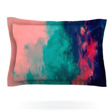 Painted Clouds Double by Caleb Troy Woven Pillow Sham