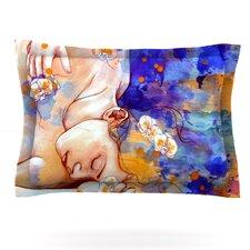 A Deeper Sleep by Kira Crees Cotton Pillow Sham