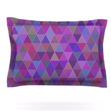 Abstract by Louise Cotton Pillow Sham