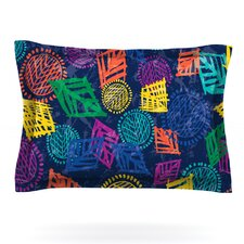 African Beat by Emine Ortega Woven Pillow Sham