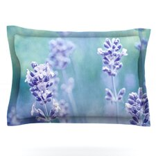 Lavender Dream by Iris Lehnhardt Woven Pillow Sham
