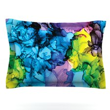 Mermaids by Claire Day Woven Pillow Sham