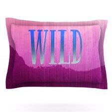 Wild by Catherine McDonald Woven Pillow Sham