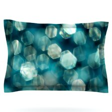 Shades of Blue by Ingrid Beddoes Woven Pillow Sham