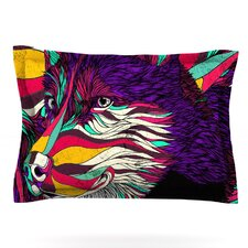 Color Husky by Danny Ivan Woven Pillow Sham