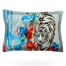Tiger by Sonal Nathwani Woven Pillow Sham