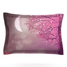Song of the Springbird by Monika Strigel Woven Pillow Sham