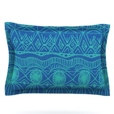 Beach Blanket Confusion by Catherine Holcombe Woven Pillow Sham