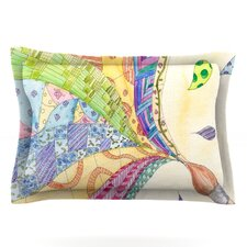 The Painted Quilt by Catherine Holcombe Woven Pillow Sham