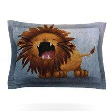 Dandy Lion by Rachel Kokko Woven Pillow Sham