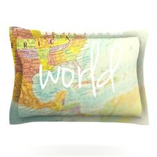 What a Wonderful World by Libertad Leal Woven Pillow Sham