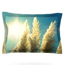 Ornamental Grass by Robin Dickinson Woven Pillow Sham