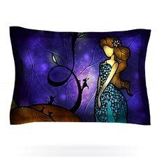 Cinderella by Mandie Manzano Woven Pillow Sham