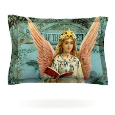 The Delivery by Suzanne Carter Woven Pillow Sham