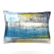 Make A Statement by CarolLynn Tice Woven Pillow Sham