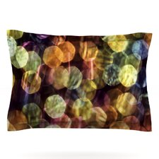 Warm Sparkle by Ingrid Beddoes Woven Pillow Sham