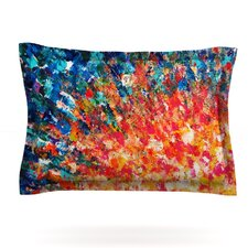 The Clash by Ebi Emporium Woven Pillow Sham