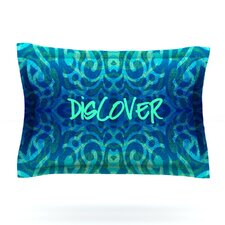 Tattooed Discovery by Caleb Troy Woven Pillow Sham