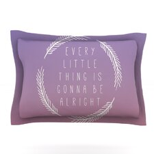 Little Thing by Galaxy Eyes Woven Pillow Sham