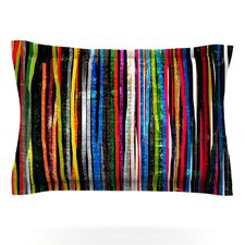 Fancy Stripes by Frederic Levy-Hadida Woven Pillow Sham